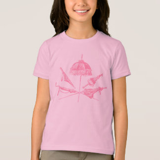 Pink Parasols Tee Shirt