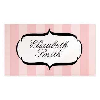 Pink Parlour Deux Business Card