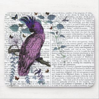 Pink Parrot Mouse Mat