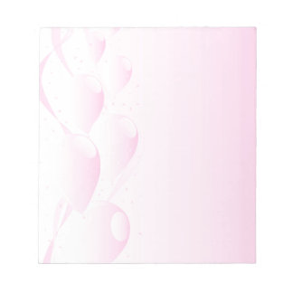 Pink Party Background Notepad