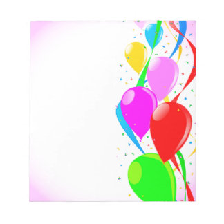 Pink Party Background Notepads