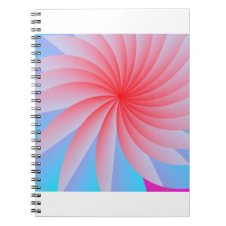 Pink Passion Flower Photo Notebook