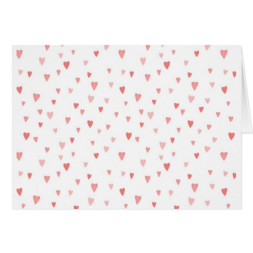 PINK PASSION HEARTS CARDS