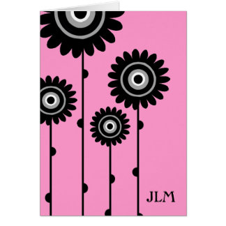 PINK PASSION INVITATION GREETING CARD