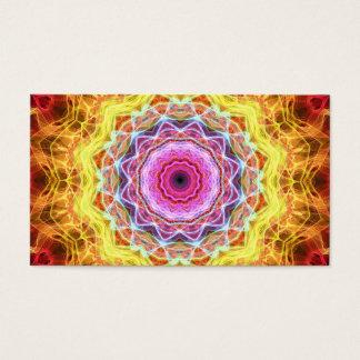 Pink Passion  kaleidoscope Business Card