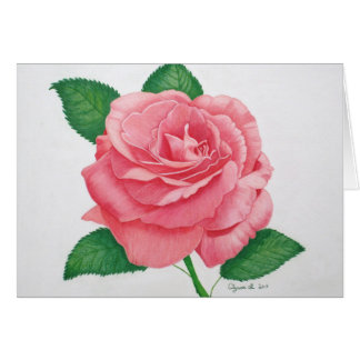 Pink Passion Note Card