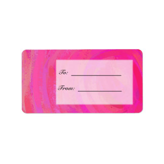Pink Passion Personalized Address Label