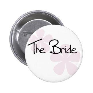 Pink Pastel Flowers The Bride Pins