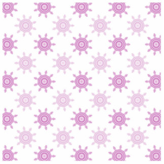 Pink Pattern. Fractal Circles. Photo Sculpture