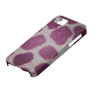 Pink pattern iPhone 5 cover