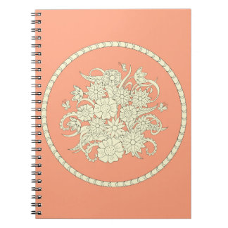 pink pattern with to summer bouquet into sends it spiral note books