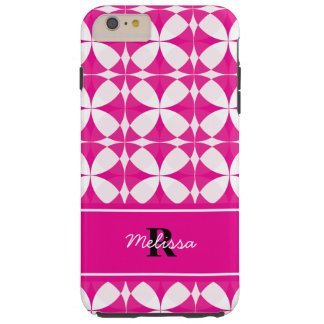 Pink Patterned Personalized iPhone 6/6s Case