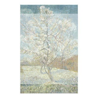 Pink Peach Tree by Vincent Van Gogh Personalized Flyer