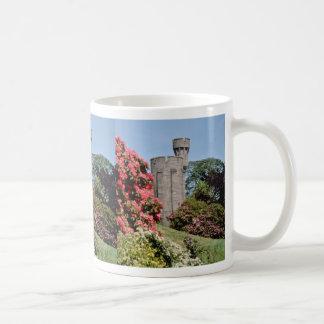 Pink Penrhyn Castle flowers Classic White Coffee Mug
