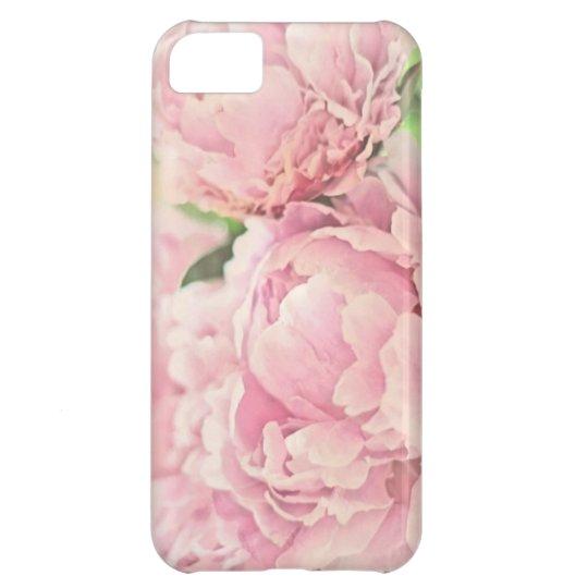 Pink Peonies iPhone 5C Case