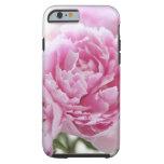 pink peonies iPhone 6 case tough case