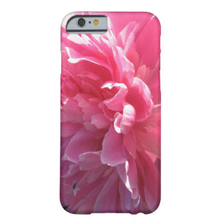 Pink Peony Barely There iPhone 6 Case