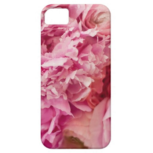 Pink Peony Case iPhone 5 Covers