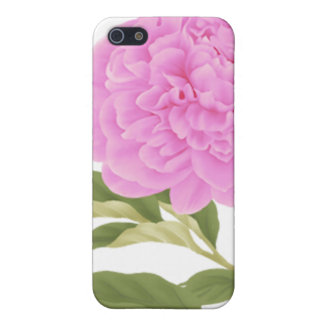 Pink Peony Case For The iPhone 5