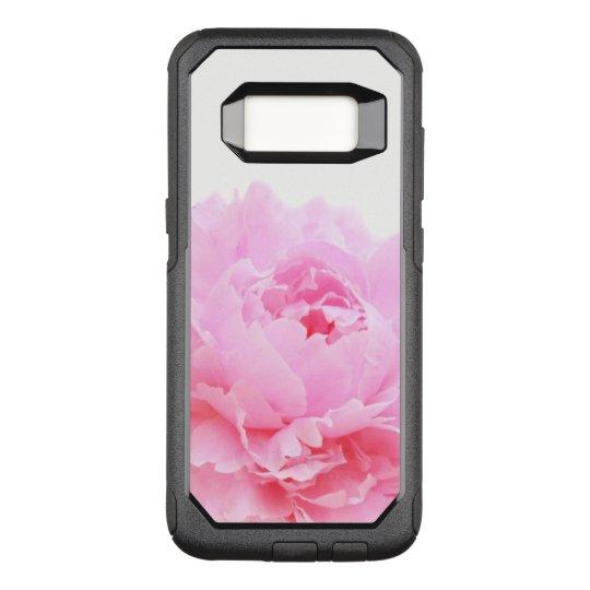 pink peony OtterBox commuter samsung galaxy s8 case