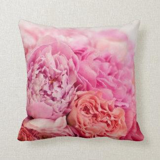 Pink Peony Pillow Cushions
