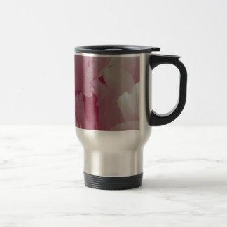 Pink Peony Rose Travel Mug