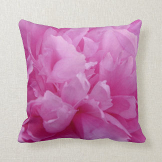 Pink Peony up close & beautiful Cushion