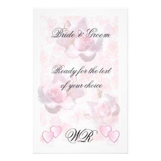 Pink Perfection ~ Wedding Stationary # 2 Customized Stationery