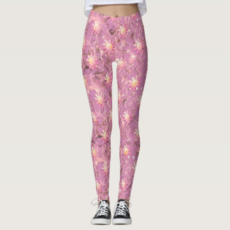 Pink Petals Leggings