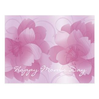 Pink Petals Mom s Day Postcard