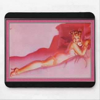 pink petty mousepad