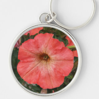 Pink Petunia Key Ring