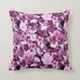 Pink Petunias Cushions