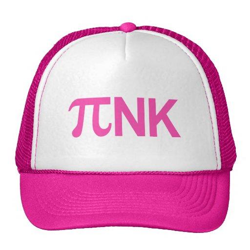 PINK PI NK TRUCKER HAT