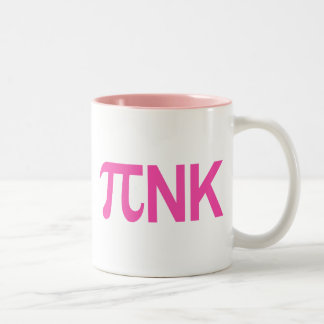 PINK PI NK Two-Tone COFFEE MUG