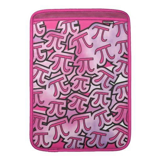Pink Pi Social MacBook Sleeves