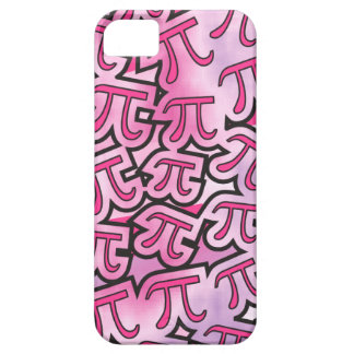 Pink Pi Social - Math Pi iPhone 5 Case