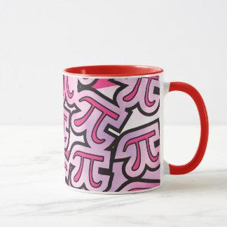 Pink Pi Social - Math Themed Pi Day Mug