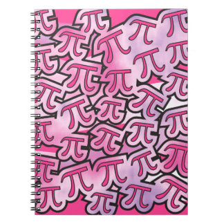 Pink Pi Social Spiral Note Book