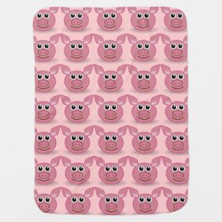 Pink Pig - Baby Blanket