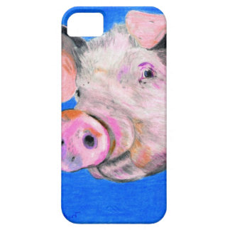 Pink Pig Barely There iPhone 5 Case