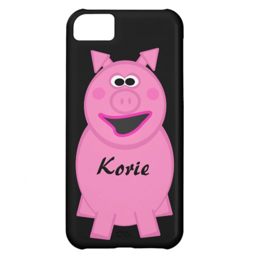 Pink Pig iPhone 5C Case