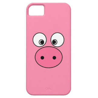 Pink Pig Face iPhone 5 Case