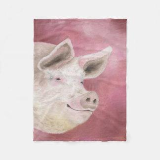 Pink Pig fleece