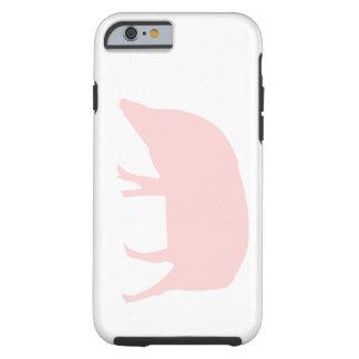 Pink Pig iPhone 6 case Tough iPhone 6 Case