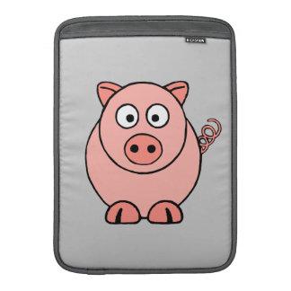 Pink Pig MacBook Sleeve