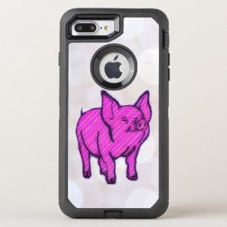 Pink Pig OtterBox Defender iPhone 7 Plus Case