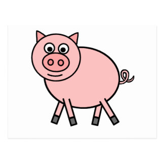 Pink Pig Post Cards