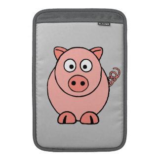 Pink Pig Sleeve For MacBook Air