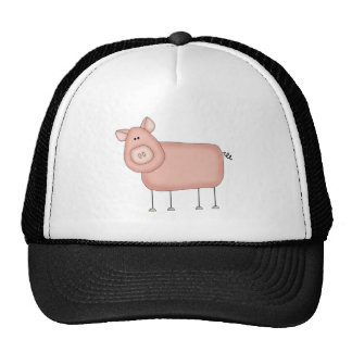 Pink Pig T-shirts and Gifts Hat
